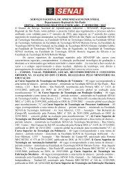 Edital - 1 S 2012- Versão Completa-Internet - Faculdade SENAI