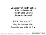 What do Students Say? - School of Medicine & Health Sciences ...