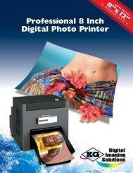 Professional 8 Inch Digital Photo Printer - Fotoclubinc.com