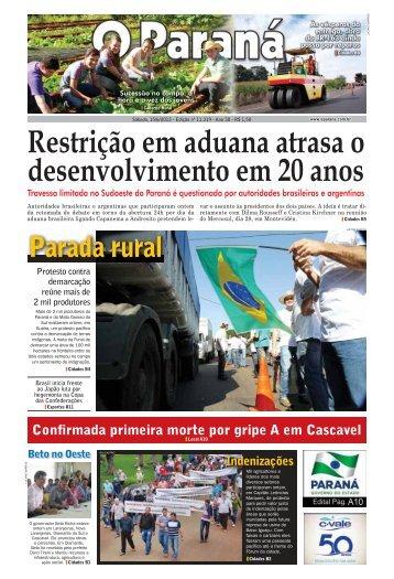 Baixar edição - O Paraná