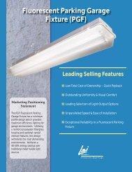 Fluorescent Parking Garage Fixture (PGF) - LSI Industries Inc.