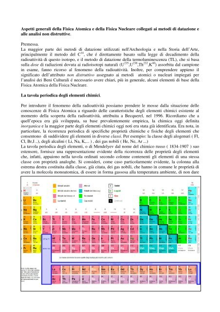 Disambiguazione – Se stai cercando il metodo di datazione, vedi Metodo del carbonio-14.