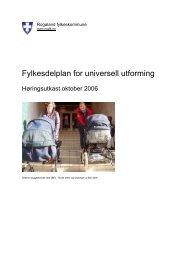 Les mer i høringsutkastet - Universell Utforming