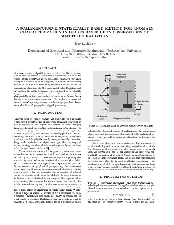 a scale-recursive, statistically-based method for anomaly ...