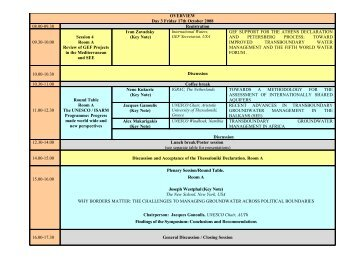 Programme for Day 3 - inweb