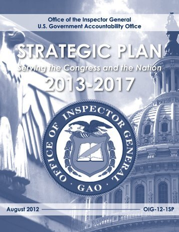 OIG Strategic Plan - U.S. Commission on Civil Rights