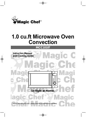 Product and Cut-out Dimensions Convection Microwave