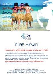 hawaii insel kataloge auswahl - World Travel Net