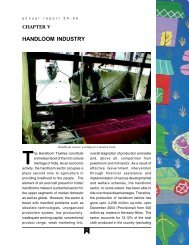 5. Handloom Industry - Ministry of Textiles
