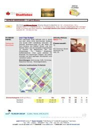 HOTELS VANCOUVER – 2 und 3-Sterne ST ... - World Travel Net