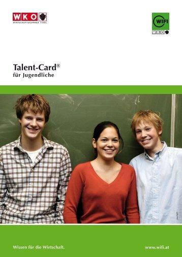 Talent-card