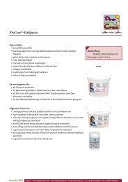 ProCrea®-Edelputze - Naturalia Bau