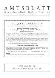 November 2004 - Das Evangelische Zentrum