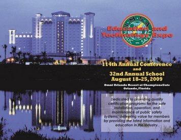 2009 Conference Brochure - IMSA