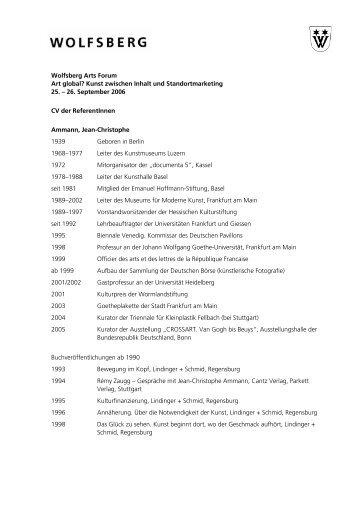 Wolfsberg Arts Forum Art global? Kunst zwischen Inhalt und ...