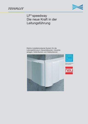 PDF Datei: Broschüre / Hager / Prospekt LF Speedway