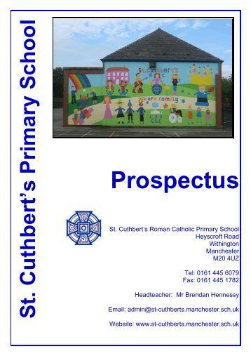 St Cuthbert's RC Primary School - folio4me