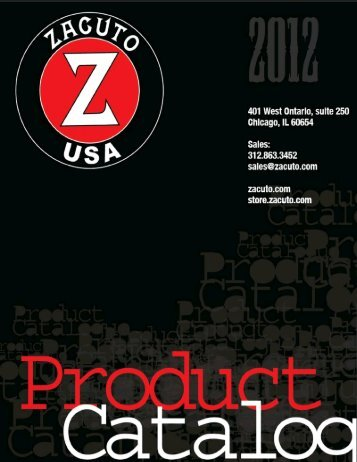 Download the 2012 Zacuto Product Catalog