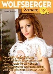Die Wolfsberger Zeitung wünscht ihren Leserinnen und Lesern ...