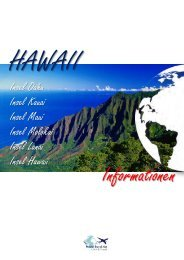 Insel Oahu Insel Kauai Insel Maui Insel Molokai ... - World Travel Net