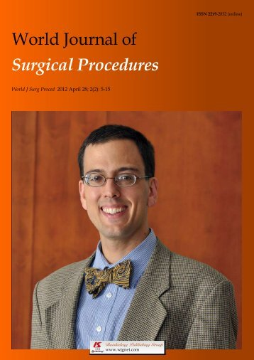 World Journal of Surgical Procedures