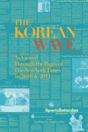 The Korean Wave 2010-2011 - Korean Cultural Service