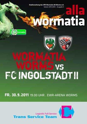 Bratwurst im Brötche - Wormatia Worms