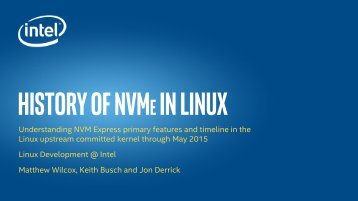 Linux NVMeByRelease_May2015
