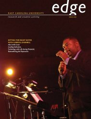 Edge 2003.pdf - East Carolina University