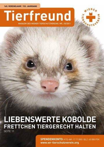 TierFreunD - Wiener Tierschutzverein