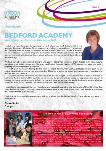 Newsletter Issue 03 - Bedford Academy