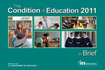 The Condition of Education 2011 in Brief - National Center for ...
