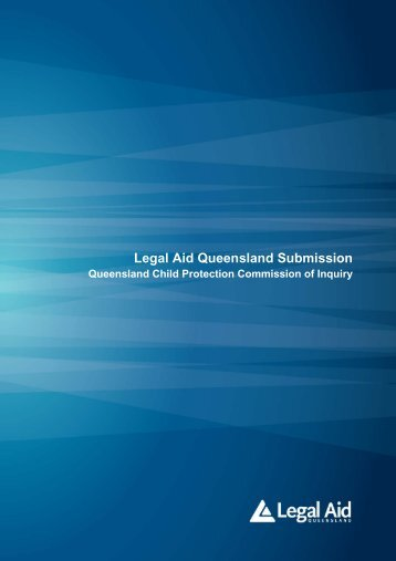 Legal Aid Queensland - Queensland Child Protection Commission ...