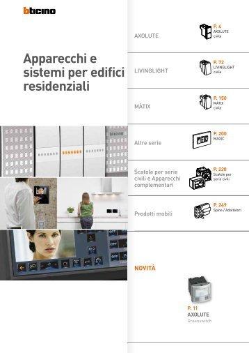 catalogo videocitofonia professionisti bticino