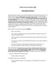 Book Report/Review
