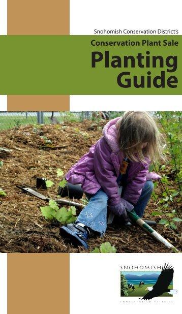 2013 Plant Sale Brochure - Snohomish Conservation District
