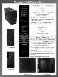 Thermaltake VM30001 Serie Miditower - Wolfsteiner-EDV