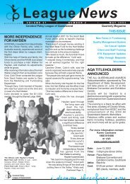 League News Layout1 - Cerebral Palsy League
