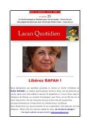 LQ 25 BAT? - Lacan Quotidien