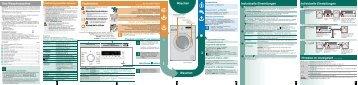 Individuelle Einstellungen Ihre Waschmaschine Vorbereiten ...