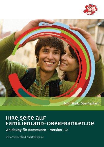 Ihre Seite auf Familienland-Oberfranken.de