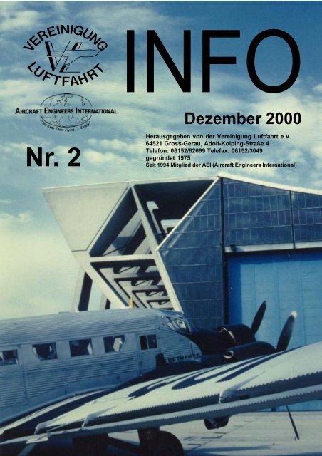 Dezember 2000 - Vereinigung Luftfahrt eV