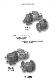 RCV..1 CV..1 RCV..2/3 CV..2/3