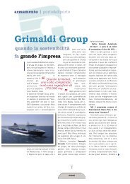 Grimaldi Group - Porto & diporto