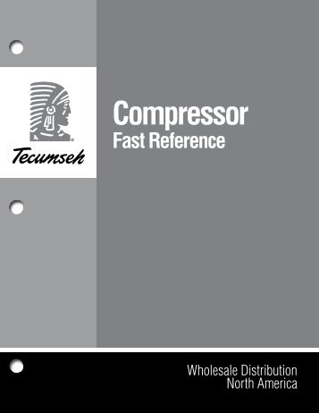 Compressor Fast Reference - Tecumseh