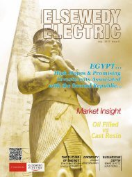 Corporate Magazine -Issue No 5 - Elsewedy Cables