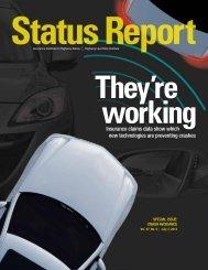 IIHS Status Report newsletter, Vol. 47, No. 5, July 3, 2012