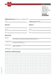 Formular Versuche am Bauwerk - Adolf Würth GmbH & Co. KG