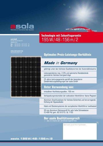 195 W / 48 -156 m / 2 - asola