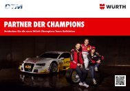 PARTNER DER CHAMPIONS - Adolf Würth GmbH & Co. KG